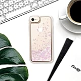 Casetify Say My Name Glitter iPhone Case
