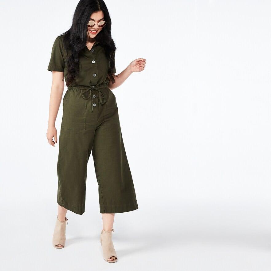 7b70be793799 POPSUGAR Collection at Kohl's Cropped Wide-Leg Jumpsuit | Best ...