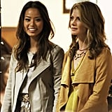 Jaime Chung as Lauren and Gillian Vigman as Stephanie in The Hangover Part III.