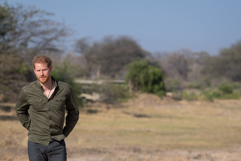 "Prince Harry made an emotional return to Botswana on the fourth day of his Southern Africa tour on Thursday. The 35-year-old royal assisted local schoolchildren in planting trees at the Chobe Tree Reserve, and during his time there, he opened up to reporters about why Africa is so important to him. ""I came here in 1997, 1998 straight after my mum [Princess Diana] died, so it was a nice place to get away from it all,"" Harry explained. ""But now I feel deeply connected to this place and to Africa."" He also added that being in the continent gave him a ""sense of escapism . . . a real sense of purpose."" Princess Diana died in a car accident in August 1997 when Harry was just 12 years old. In addition to her flawless beauty and incredible sense of style, Diana is best remembered for her charitable heart. Just like Harry, she regularly visited hospitals, schools, and fundraising galas and even took trips to Africa, India, and Pakistan, touching the lives of many wherever she went.  Botswana also likely holds a special place in Meghan Markle's heart, as she and Harry have previously spent time there and Harry actually sourced the centre stone of her engagement ring from the country. After Botswana, Harry will be making solo trips Angola and Malwai before reuniting with Meghan and his son, Archie Mountbatten-Windsor, in Johannesburg to close out the 10-day tour.       Related:                                                                                                           Archie Mountbatten-Windsor Was All Smiles and Giggles on His Royal Tour Debut"
