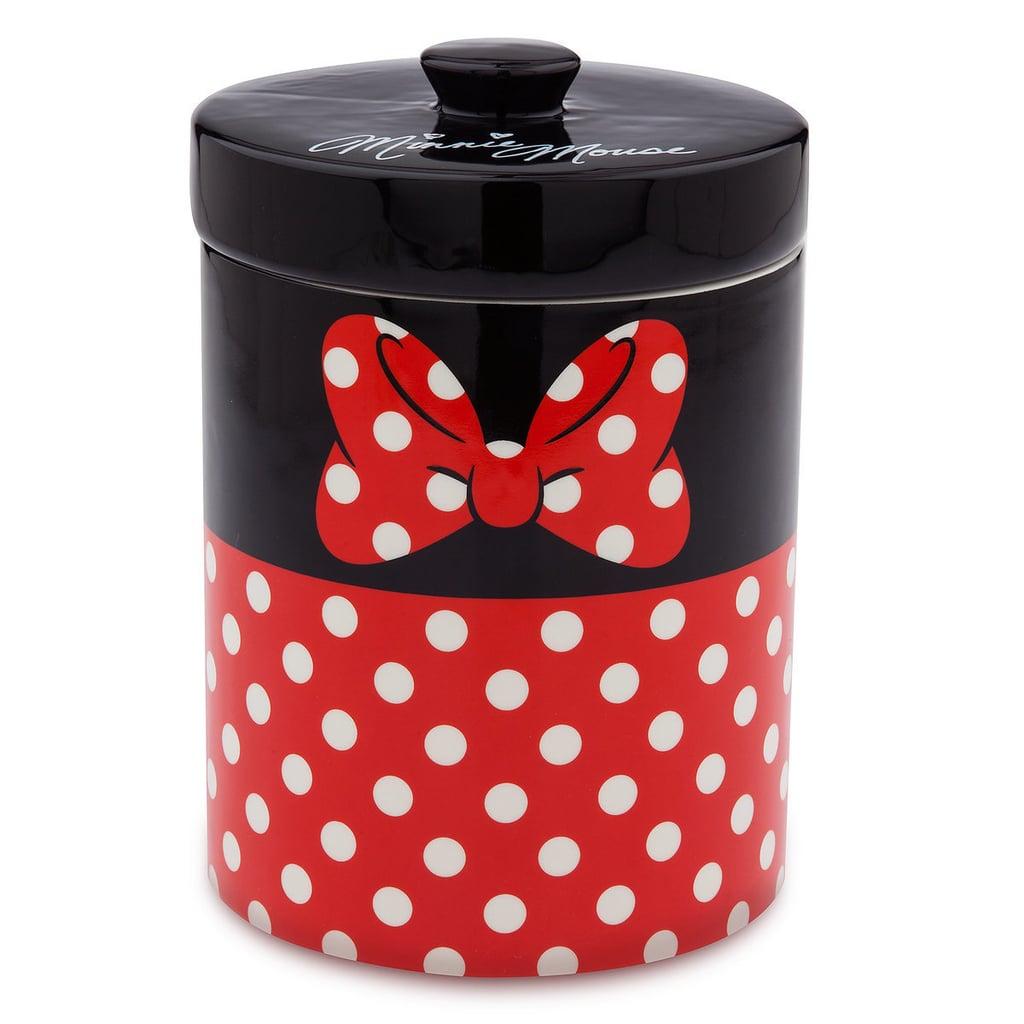 Minnie mouse canister disney home decor popsugar home