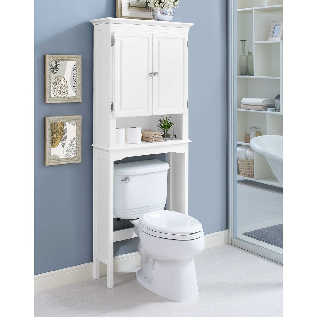 Bathroom Wakefield No Tools Over The Toilet Space Saver Best Organization Products Popsugar