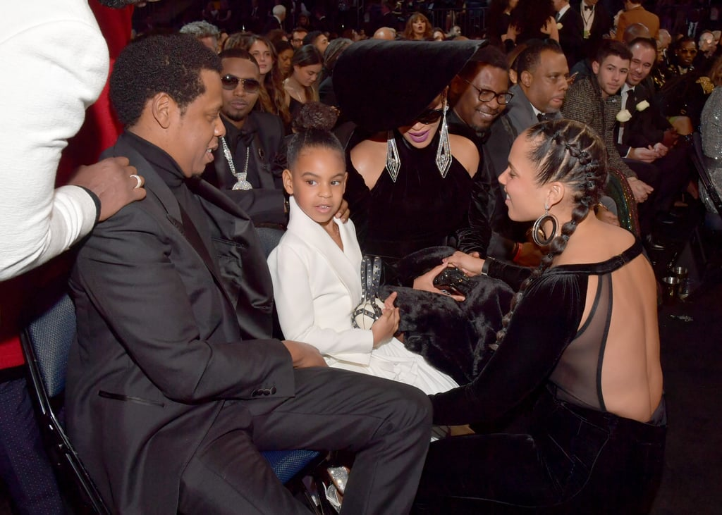 Blue Ivy's Valentino Purse at the 2018 Grammys
