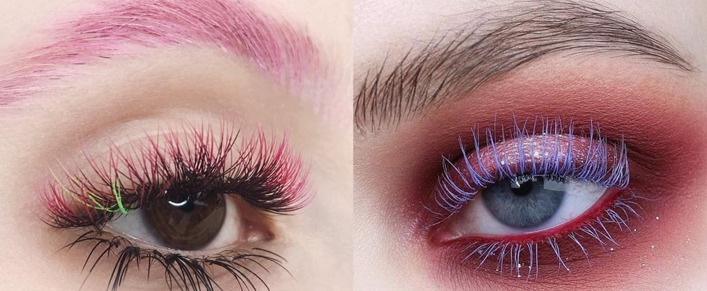 Coloured Eyelash Extensions