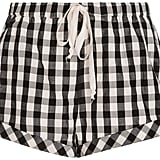 Solid & Striped Gingham Drawcord Shorts ($140)