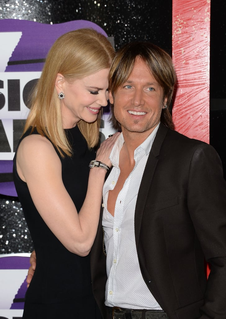 Nicole leaned in to Keith at the CMT Music Awards in June 2013.