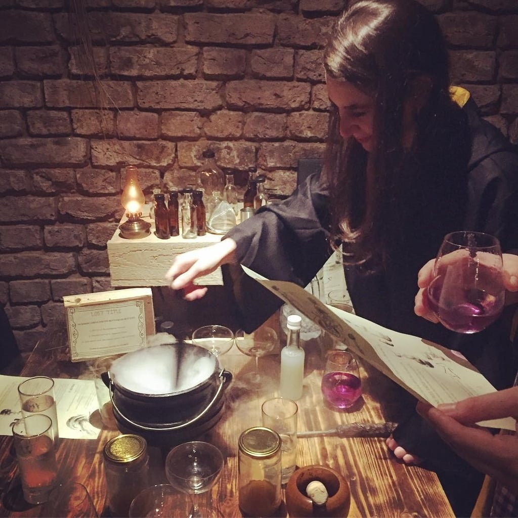The Cauldron Harry Potter Inspired Bar London