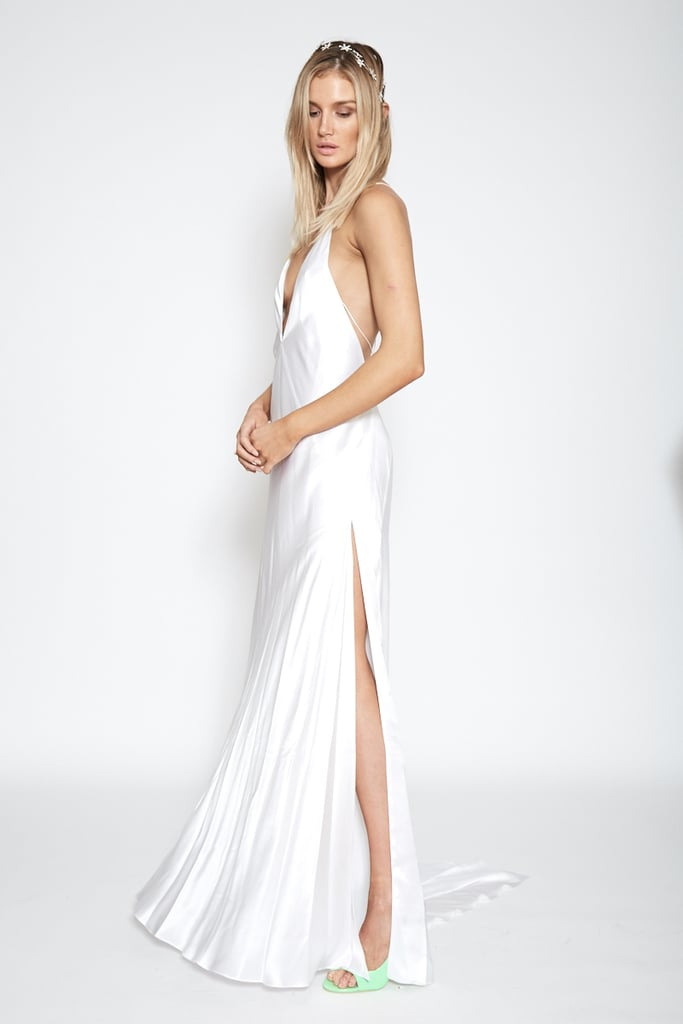 Michael Lo Sordo Alexandra White Maxi Dress, $1,290 | Non ...