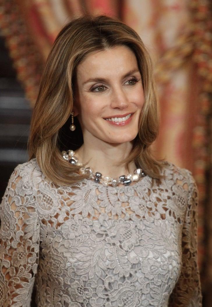 Contemporary Pearl Necklace Queen Letizia Of Spain S