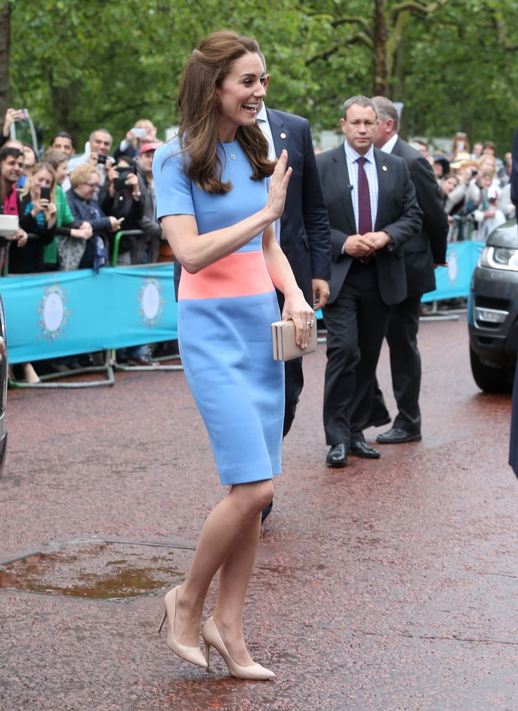 Kate Middleton's Colorblock Roksanda Dress June 2016