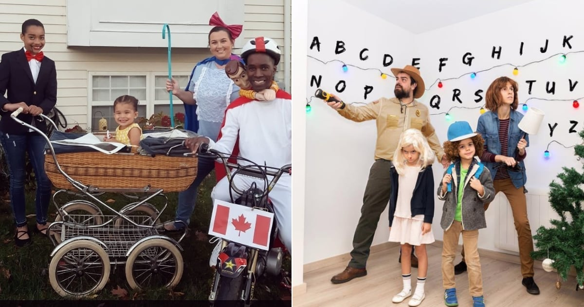 Don't Just Dress Up the Kids! These 47 Family-of-4 Costume Ideas Are Too Good Not to Copy