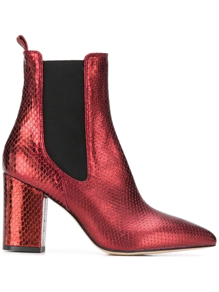 Paris Texas Block Heel Ankle Boots