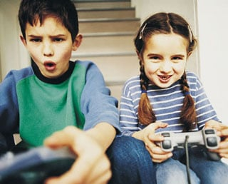 Kids Starting To Play Video Games At Younger Age
