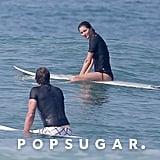 Tom Brady and Gisele Bundchen in Costa Rica March 2016