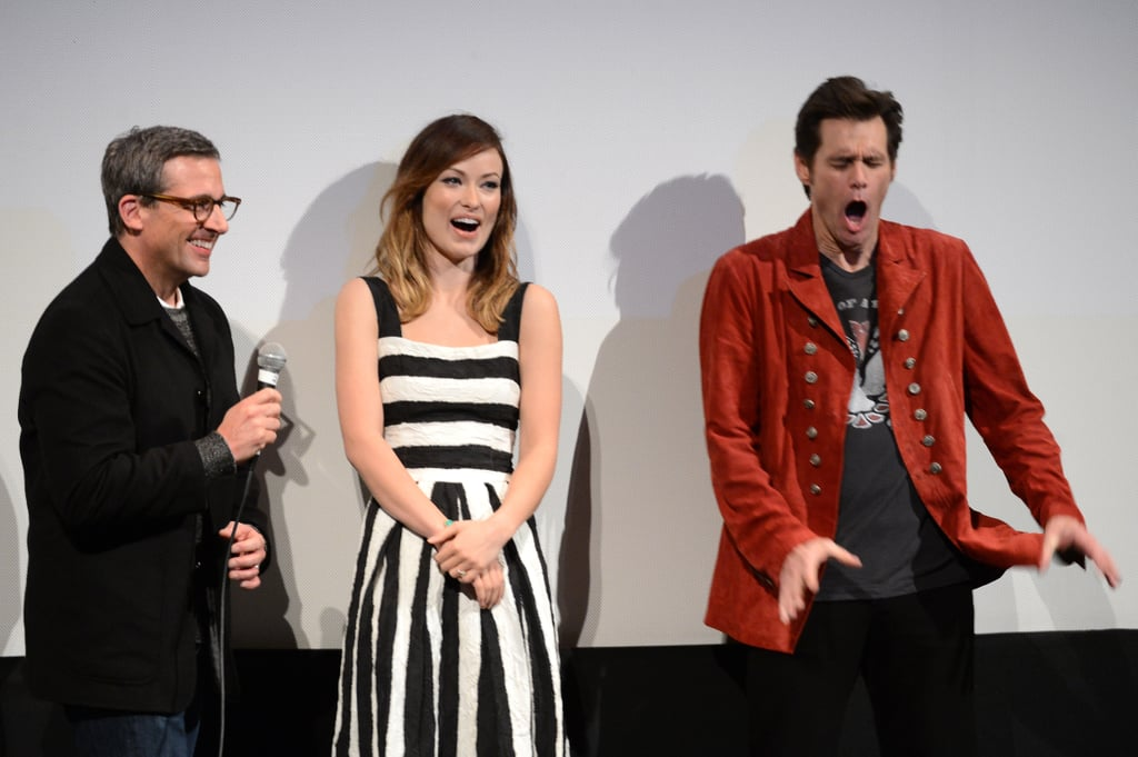 Olivia Celebrates Burt Wonderstone With Steve and Jim at SXSW
