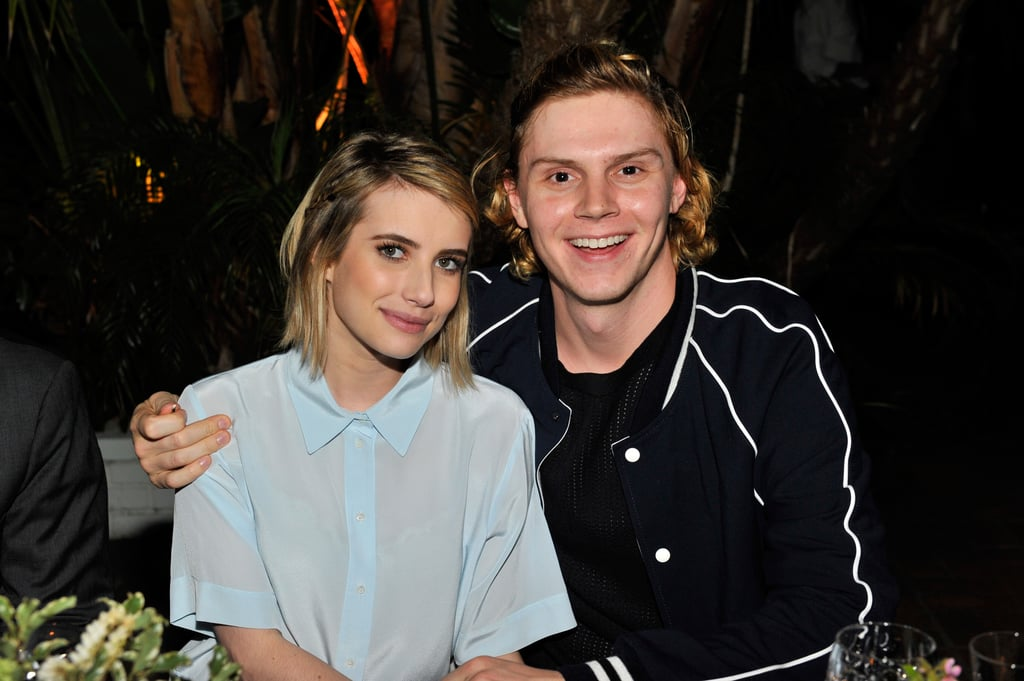 In March 2014, Evan was grinning from ear to ear during their outing in LA.
