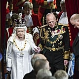 Queen Elizabeth Looks Like a Fairy-Tale Monarch at Parliament's Opening