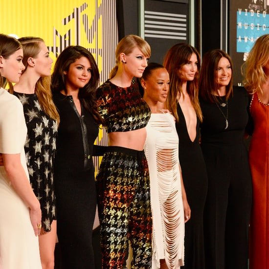 Taylor Swift's Bad Blood Friends Style at the MTV VMAs 2015