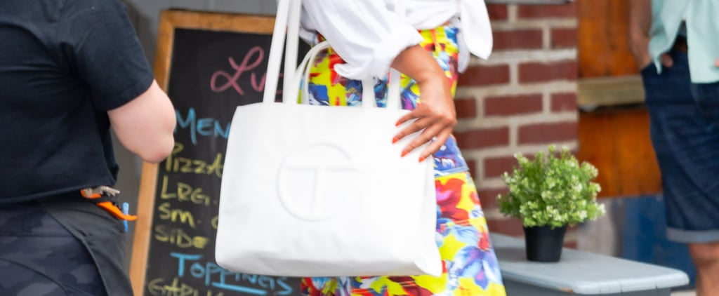 Beyonce Spotted With a White Telfar Bag