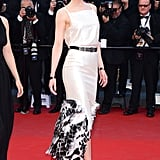 Nicole wearing a Chanel dress at the 2013 Cannes Film Festival.
