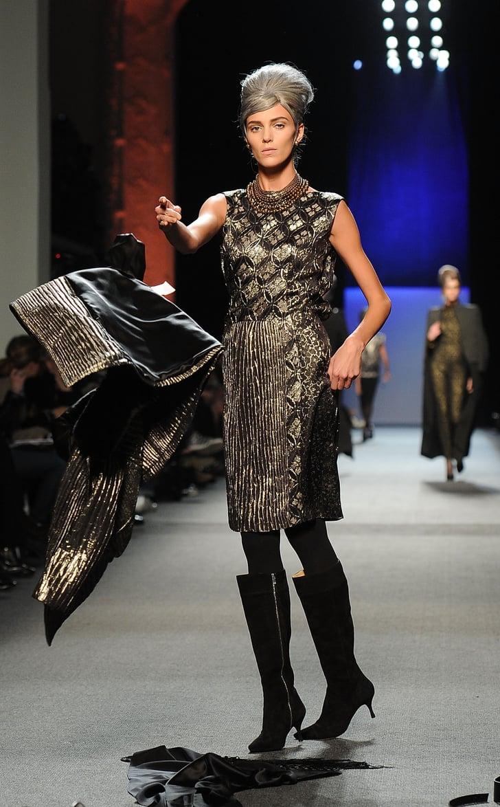 Fall 2011 Paris Fashion Week: Jean Paul Gaultier 2011-03-06 14:01:51
