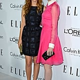 Ahna O'Reilly and Emma Stone stepped out to attend the Elle Women in Hollywood Awards in LA.