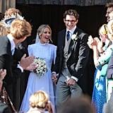 Ellie Goulding and Caspar Jopling eloped at York Minster in August 2019.