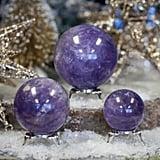 Gemmy Amethyst Spheres For Divine Healing