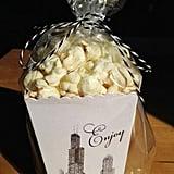 Chicago Wedding Mini Popcorn Box