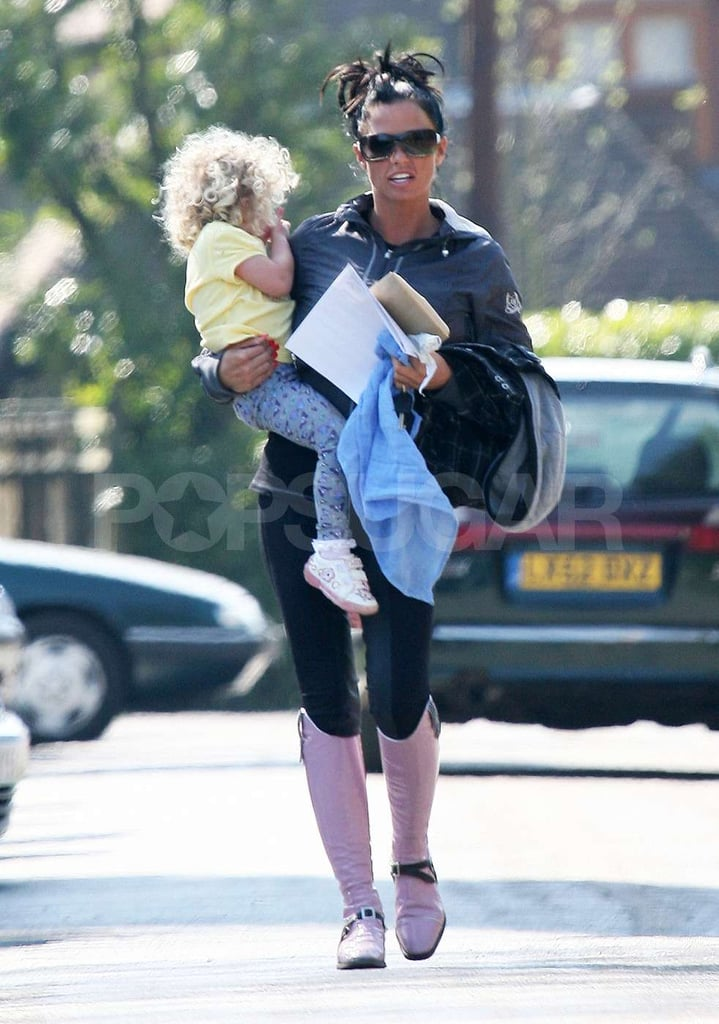 Photos of Katie Price and Peter Andre