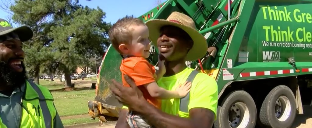 The Bond Between This 3-Year-Old and His Garbage Men Is Truly a Joy to Witness