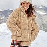 Free People Teddy Puffer Coat