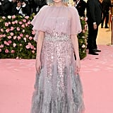 Lucy Boynton at the 2019 Met Gala