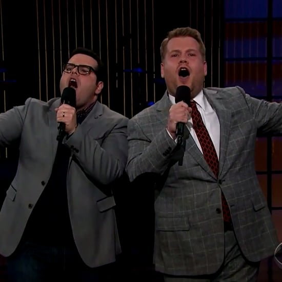 Josh Gad Channels Olaf From Frozen to Crash James Corden's Show