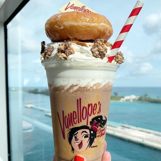 Peanut Butter Tower Milkshake on Disney Dream Cruise