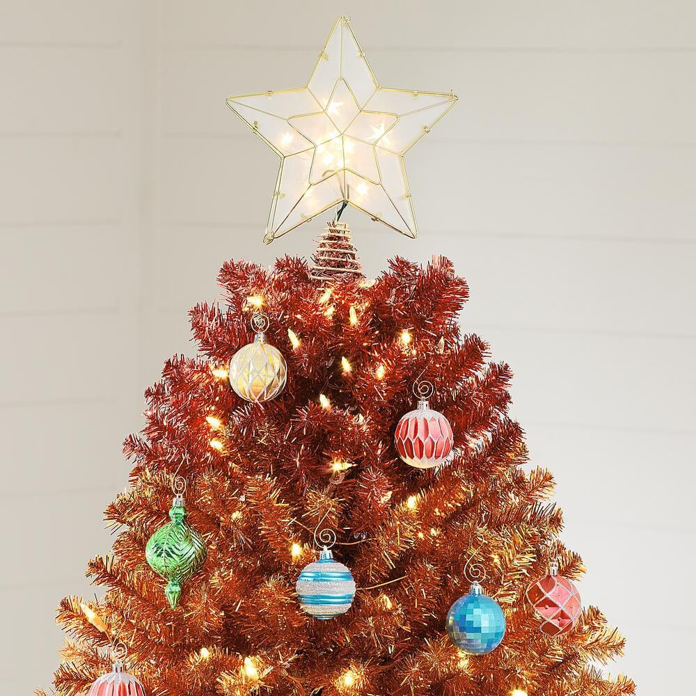 Home Accents Colour Pine Christmas Tree
