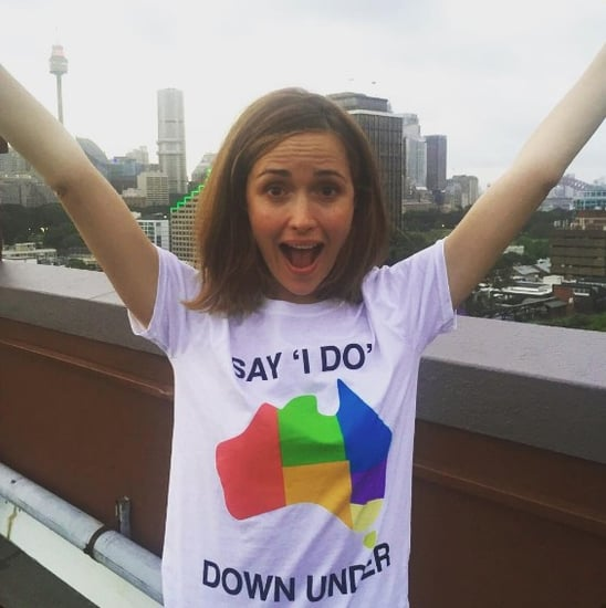 Celebrities Say I Do Down Under Australian Marriage Equality