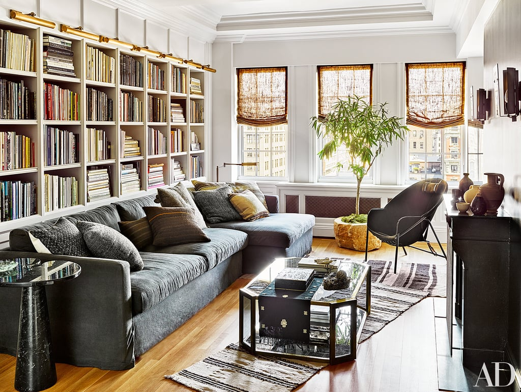 The Living Room In Nate Berkus And Jeremiah Brentu0027s New York City Apartment  Is Modern And