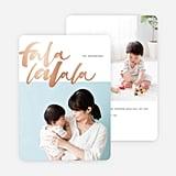 Foil Falala Card from Paper Culture ($2-$3 per card)