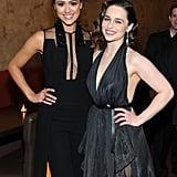 Nathalie Emmanuel and Emilia Clarke