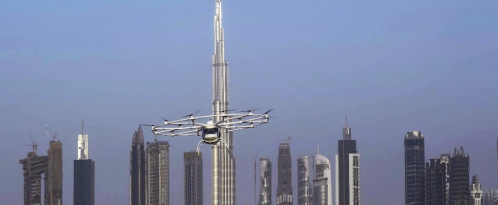 Dubai Tests Flying Taxis For First Time