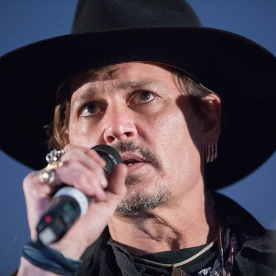 Johnny Depp Talks About Donald Trump at Glastonbury 2017