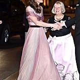 Kate Middleton's Oscar de la Renta Glitter Heels 2019