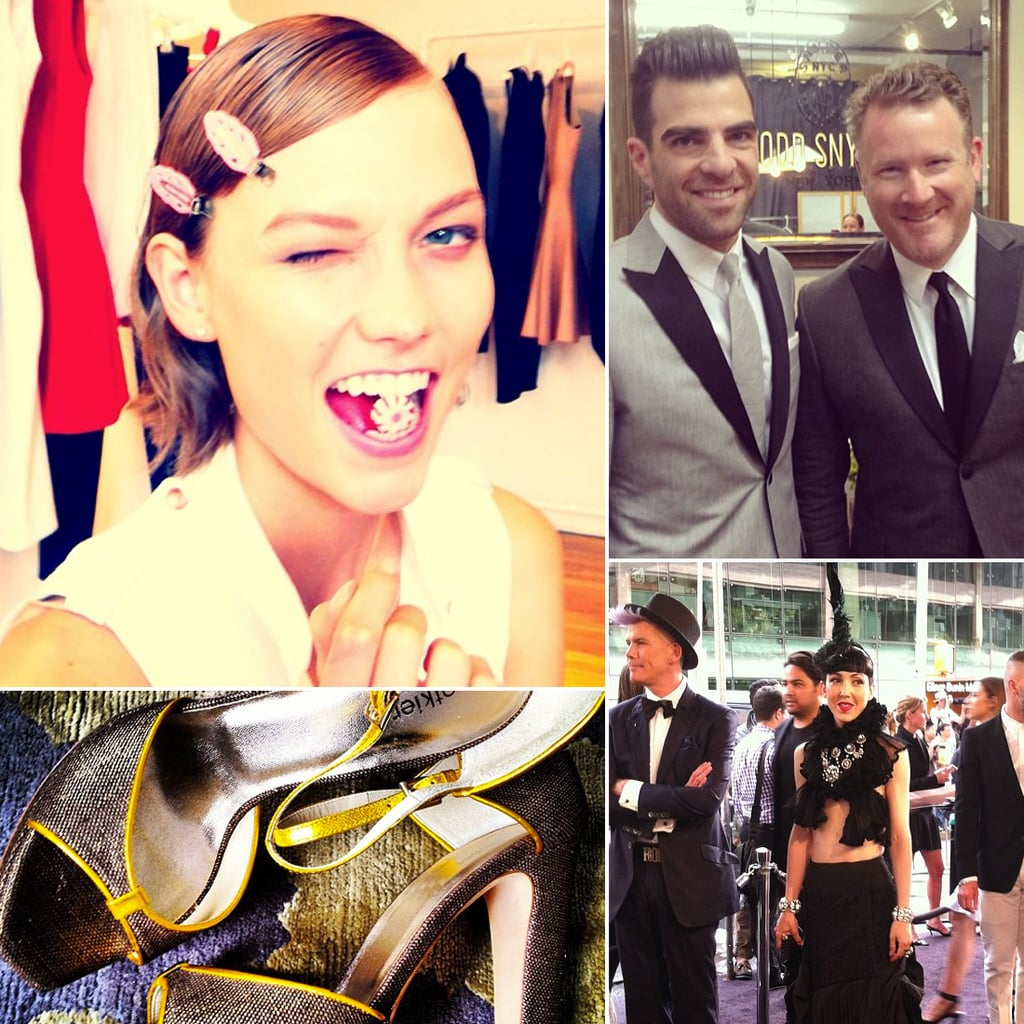 Instagram Pictures From the CFDA Awards