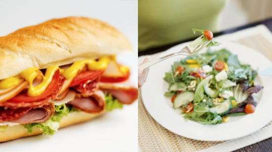 At Lunchtime, Would You Rather Eat a Sandwich or Salad?