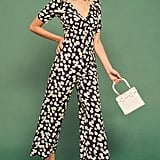 The print on this Reformation Marlena Daisy Jumpsuit  ($131, originally $218) is perfect for Summer.