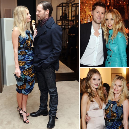 Celebrities at Burberry Body Fragrance Launch