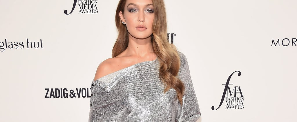 Gigi Hadid's Silver Dress at the Daily Front Row Awards