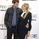 Joshua Jackson was on the red carpet with girlfriend Diane Kruger.