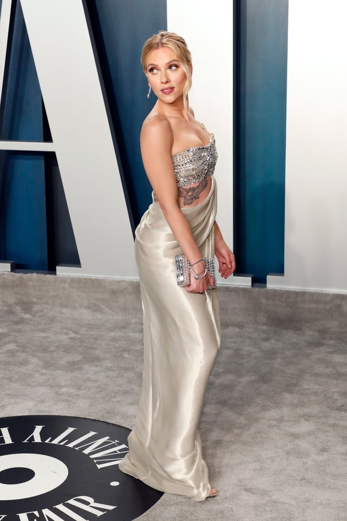 Scarlett Johansson at the Vanity Fair Oscars Afterparty ...